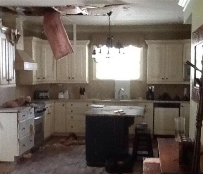 Kitchen Disaster: Nicholasville, KY Water Damage Restoration And Water