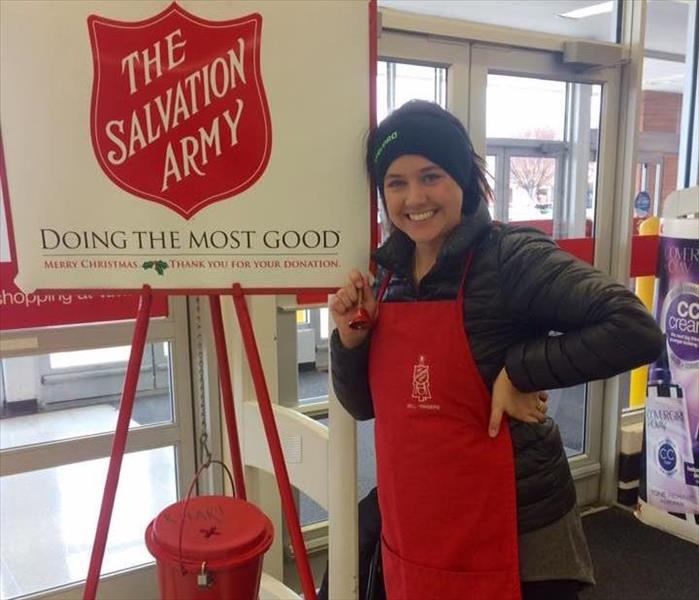 Ringing for the Salvation Army