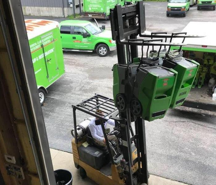 SERVPRO's Busy Weekend
