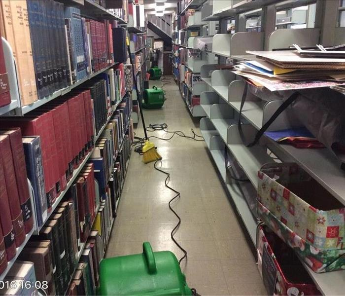 Library Water Loss